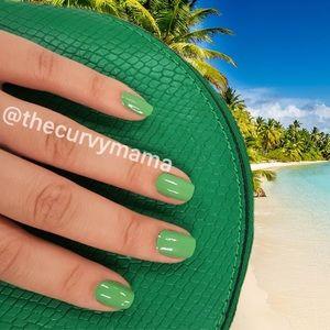 2/$20 palmetto solid green Incoco nails retired
